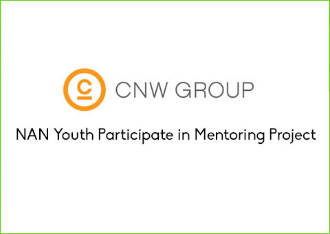CNW Group: NAN Youth Participate in Mentoring Project