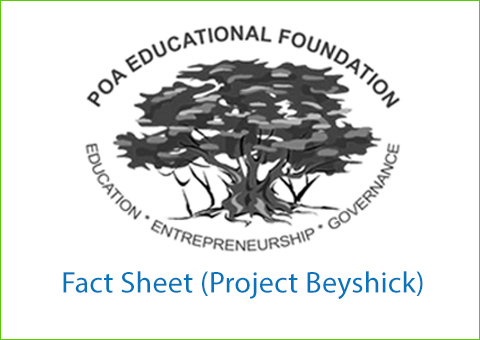 Fact Sheet  (Project Beyshick)
