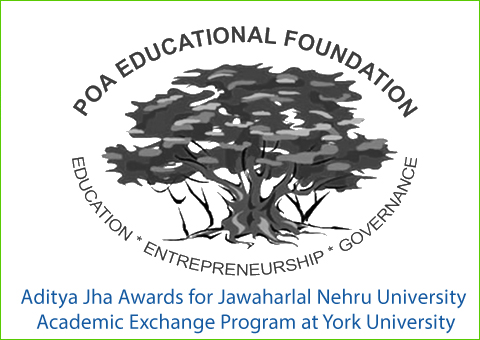 Aditya Jha Awards for Jawaharlal Nehru University Academic Exchange Program at York University